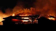 600 éves kastély égett porrá Japánban