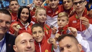 Éremeső hullott a magyarokra az Európa-bajnokságon