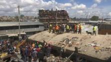 Hatemeletes épület omlott össze Nairobiban, az emberek a romok alatt rekedtek