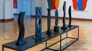 A gép forog – lüktető kiállítás az Ybl Budai Kreatív Házban