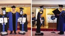 Koronavírus: robotok veszik át a diplomát a végzősök helyett Japánban