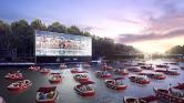 Párizsban lebegő mozival úsznák meg a koronavírust
